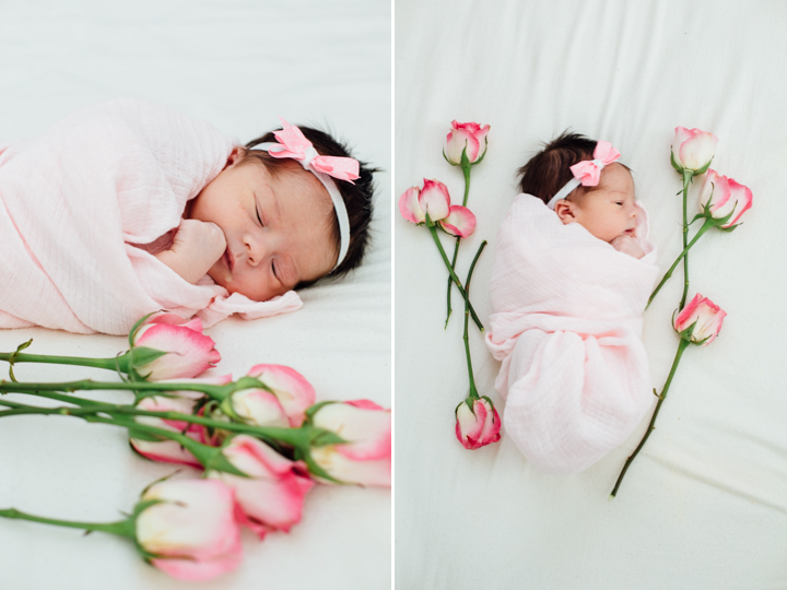 newborn in home family session 5